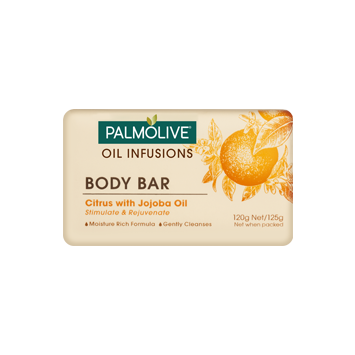 Palmolive Oil Infusions Body Bar Citrus with Jojoba Oil