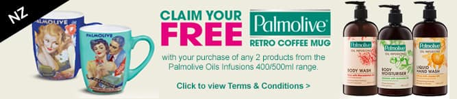 Palmolive Coffee Mug Giveaway Retro