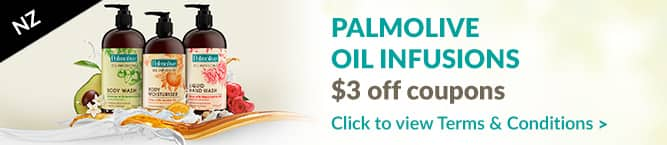 Palmolive Oil Infusions Offer New Zealand