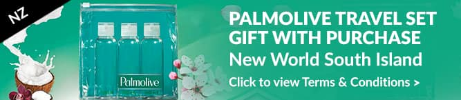Palmolive Travel Set Gift With Purchase New Zealand South Island