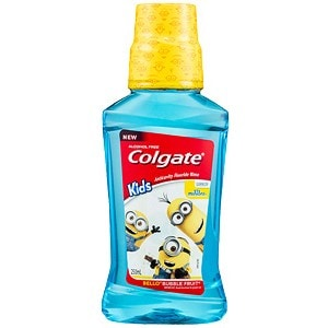 Colgate® Minions™ Kids Bello Bubble Fruit Mouthwash