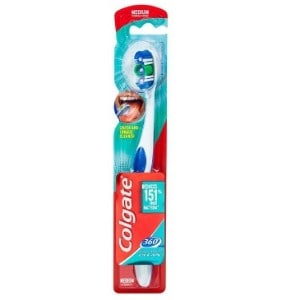 Colgate<sup>®</sup> 360°<sup>®</sup> Whole Mouth Clean Toothbrush