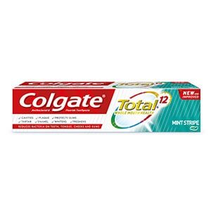 Colgate Total® Mint Stripe toothpaste