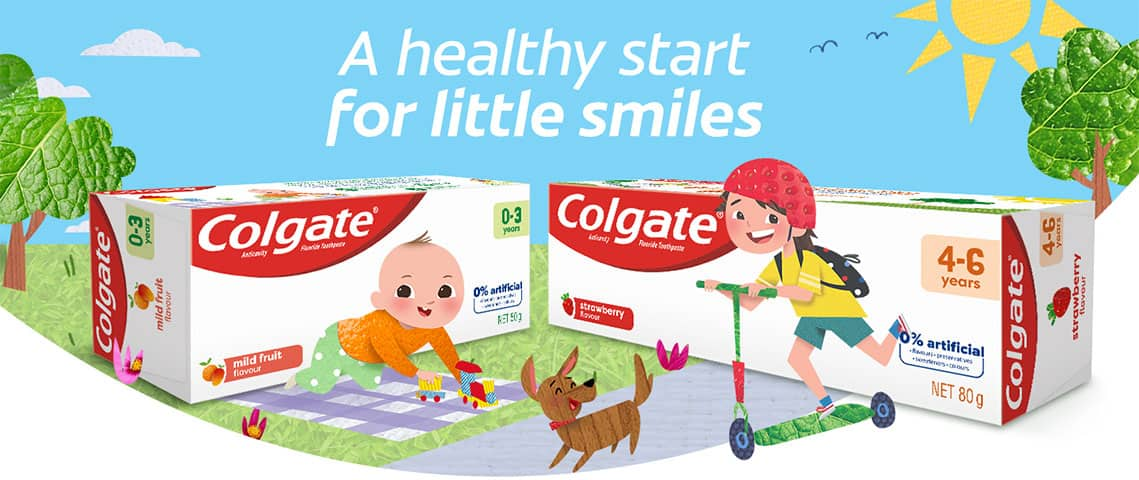 A healthy start for little smiles