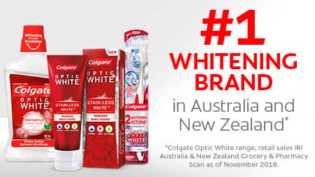 Discover Colgate® Optic White™ Now