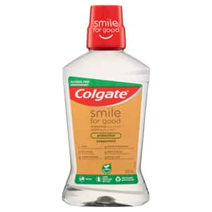 Colgate<sup>®</sup> Smile For Good Protection Peppermint Mouthwash