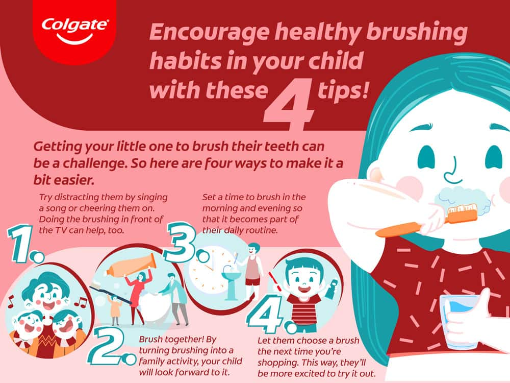 Tips on how to make brushing easier for kids