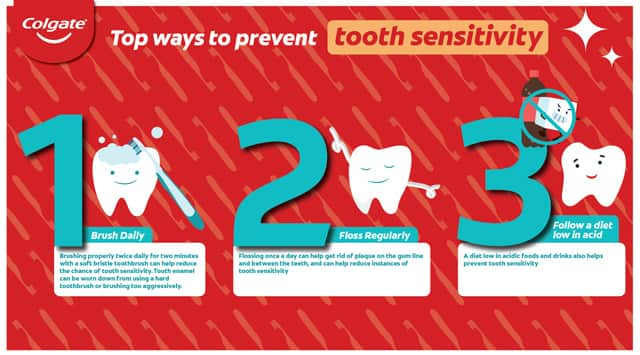 Ways to prevent tooth sensitivity