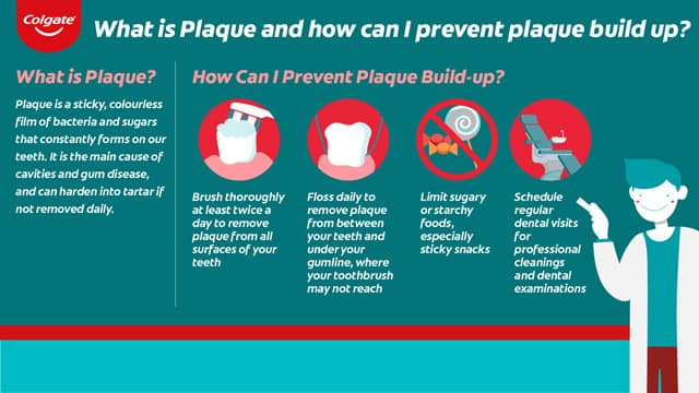 What is plaque and plaque buildup?